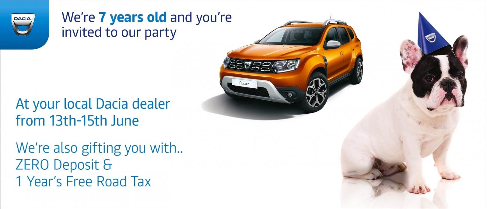 39334_Dacia-7th_Birthday_AUTOIMAGE_Web-Banner-2917x1250px_Version-1_Duster
